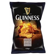 image of BURTS GUINNESS HAND COOKED CHIPS 150G