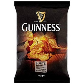 image of BURTS GUINNESS HAND COOKED CHIPS 40G