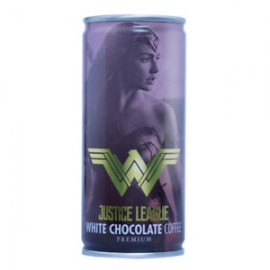 image of YHB JUSTICE LEAGUE WHITE CHOCOLATE COFFEE PREMIUM 210ML