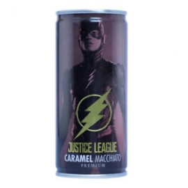 image of YHB JUSTICE LEAGUE CARAMEL MACCHIATO PREMIUM 210ML