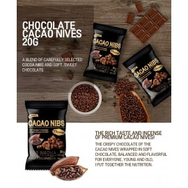 image of SUNNUTS CHOCOLATE CACAO NIBS 20G