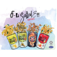 image of O-Li Salted Egg Snacks Promo Set (4 packs)