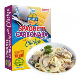 image of Master Pasto SPAGHETTI CARBONARA W/CHICKEN 280G