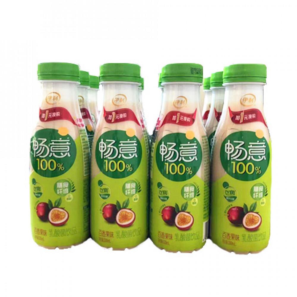 伊利畅意100%百香果味乳酸菌饮品330ML