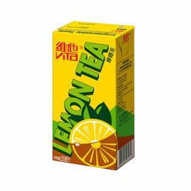 image of VITASOY LEMON TEA DRINK 250ML