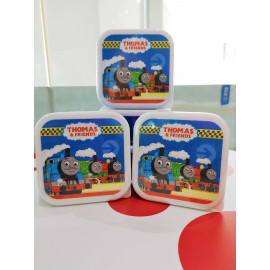 image of THOMAS & FRIENDS STRAWBERRY CREAMY FILLED BISCUITS TIN BOX 80G