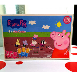 image of IG PEPPA PIG MILK COOKIES 80G