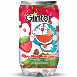 image of GLINTER DORAEMON STRAWBERRY FLAVOUR 350ML