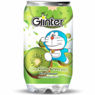 image of  	GLINTER DORAEMON KIWI FLAVOUR 350ML