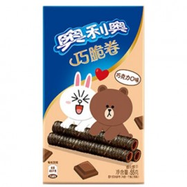 image of OREO CHOCOLATE WAFER ROLL 55G