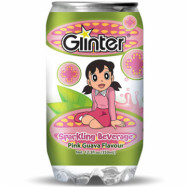 image of GLINTER DORAEMON PINK GUAVA FLAVOUR 350ML