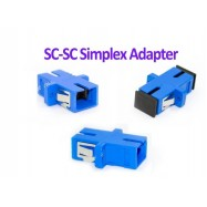 image of Fiber Optic SC SC Joint Adapter Simplex Coupler SC-SC (S011)