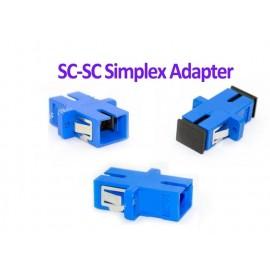 image of Fiber Optic SC SC Joint Adapter Simplex Coupler SC-SC (S011)