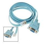 image of RJ45 LAN (M) to RS232 (F) Serial Cable 1.5m (S028)