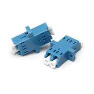 image of LC-LC SM Single mode Fiber Optic Joint Duplex Coupler Flange (S016)