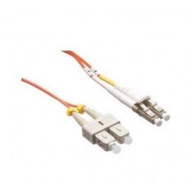 image of LC-SC 50/125 Multi mode Duplex Fiber Patch Cable OM2 5 Meter (S031)