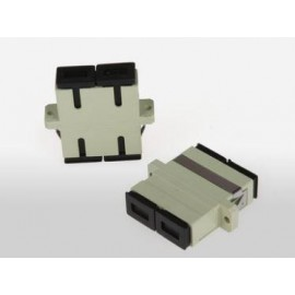 image of FIBER OPTIC SC SC COUPLER DUPLEX MM (S058)