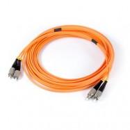 image of FC-FC 62.5/125 Multimode Duplex Fiber Patch Cord 3 Meter (S072)