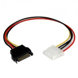 image of HIGH QUALITY MOLEX 4 PIN (F) TO SATA (M) POWER CABLE (S071)