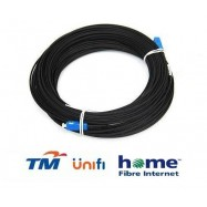 image of Unifi Maxis Modem Fiber Optic Cable Outdoor 3 Meter Black (S094)