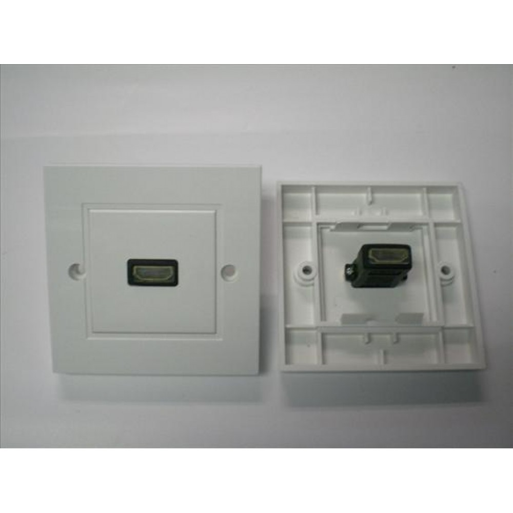 SINGLE HDMI FACE PLATE V1.4 WALL PLATE (S107)