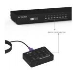 8 PORT USB VGA KVM SWITCH (S112)