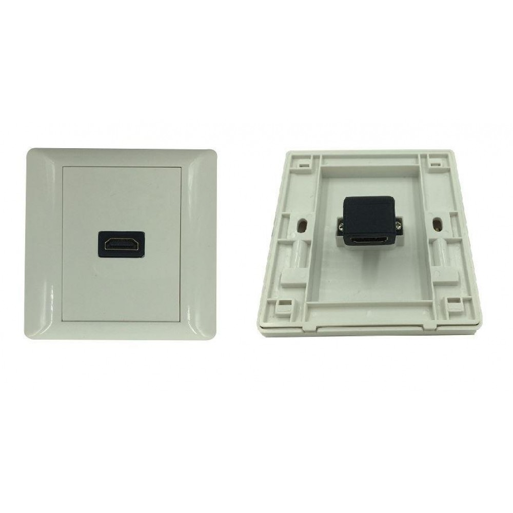HDMI V1.4 FACE PLATE WALL PLATE- L TYPE (S105)