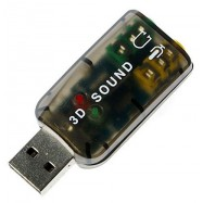image of USB 2.0 SOUND CARD (S111)