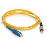 SC-FC Simplex 9/125 Fiber Optic Cable 3 meter (S104)