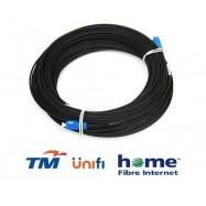 image of Unifi Maxis Modem Fiber Optic Cable Outdoor 150 Meter Black (S120)