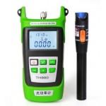 Fiber Power Meter + Red Light Pen tester Laser 10KM (S103)