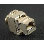 Cat 6A Fully Shielded Toolless Keystone Jack (S166)