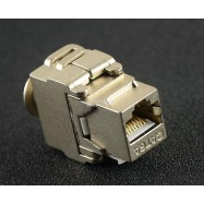 image of Cat 6A Fully Shielded Toolless Keystone Jack (S166)