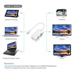 4K UHD Mini DP Display Port Thunderbolt HDMI VGA DVI Converter (S160)