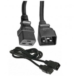 image of IEC C20 to IEC C19 16A 250V Power Cord 1.5mm 1.8Meter (S139)