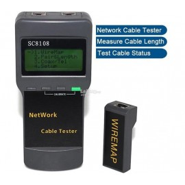 image of Multifunctional Network Cable Tester/Length Cable Tester Meter (S157)