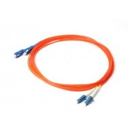 image of LC-SC Multi Mode Duplex Fiber Optic 62.5/125um 5 meter (S136)