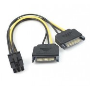 image of 6 PIN Power cable to Sata PCIe (F2712/ S161)