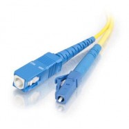 image of LC-SC 9/125 Single mode simplex Fiber Optic cable 3 Meter (S140)