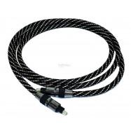 image of Digital Audio Optical Fiber Toslink Cable 1.5 meter OD 6mm (S183)