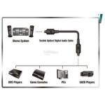 Digital Audio Optical Fiber Toslink Cable 1.5 meter OD 6mm (S183)