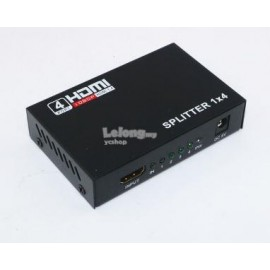 image of HDMI Splitter 1 to 4 + USB Power with 1080p & 3D Supported (S171)