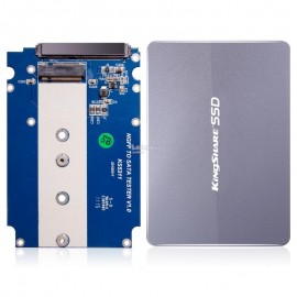 image of Kingshare NGFF M.2 to SATA Converter SSD Aluminium Casing 7mm (S202)