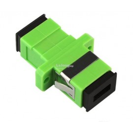image of Fiber Optic SC SC APC MM Multi mode Joint Simplex Coupler (S215)