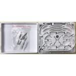 SC FIBER OPTIC 4 PORT FTTH TERMINATION BOX PLASTIC (S221)