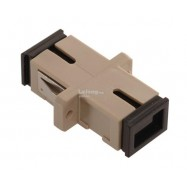 image of Fiber Optic SC-SC UPC MM Multi mode Joint Simplex Coupler (S214)