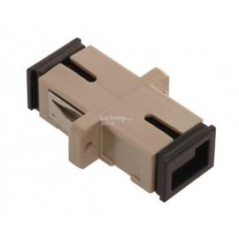 image of Fiber Optic SC-SC UPC MM Multi mode Joint Simplex Coupler (S214)