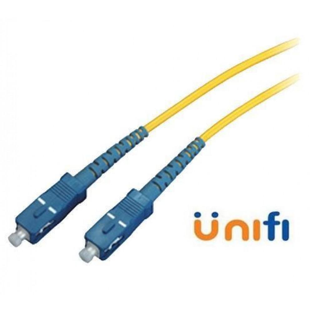 SC-SC Single Mode Fiber Optic Unifi Maxis Time 50 Meter (S234)