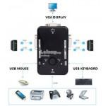 KVM SWITCH 2 PORT USB2.0 MANUAL (S206)