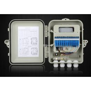 image of SC Fiber Optic 12Port FTTH Termination Box with Pigtails Coupler(S216)